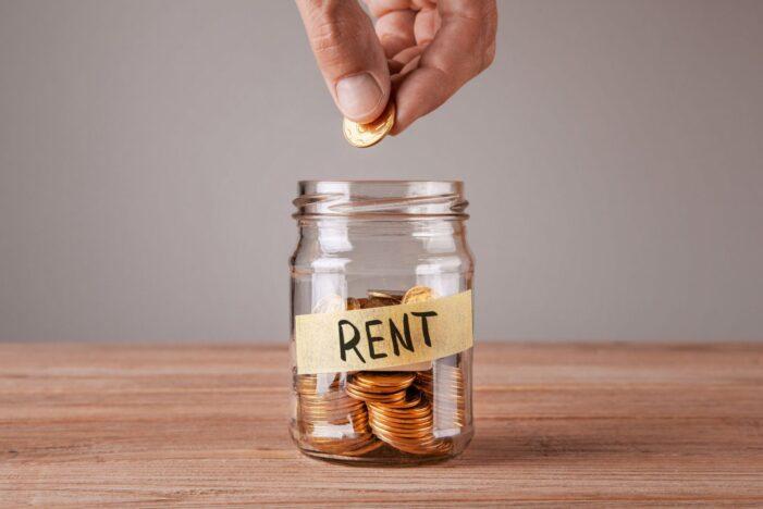Rent Money Jar
